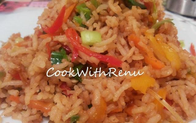 Veg Fried Rice (Without Ajinomoto)
