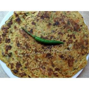 Tomato Omelette / Besan Chila (Pancake)