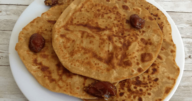 Omani Maldouf – A FlatBread made with Dates