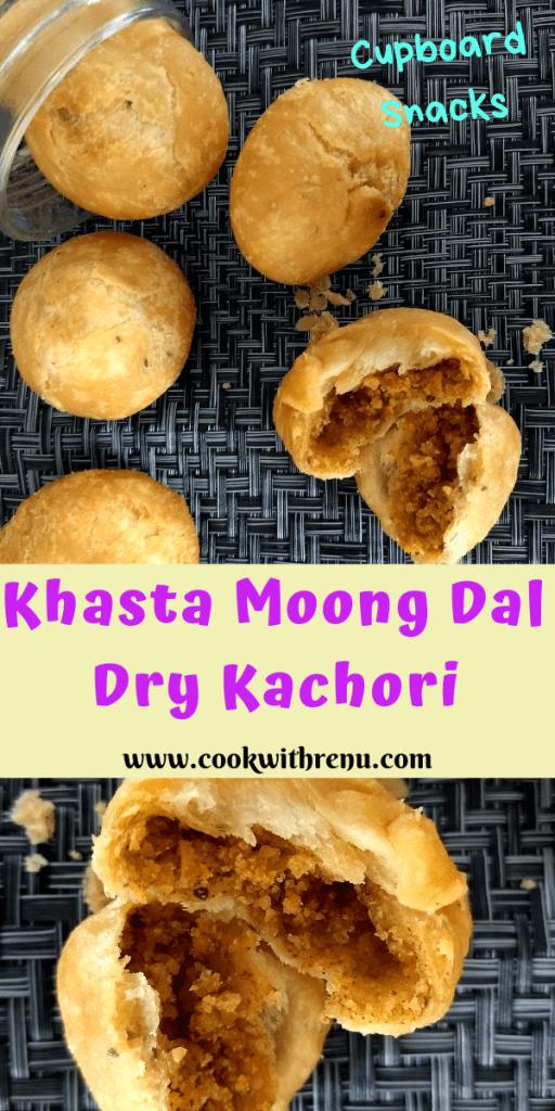 Khasta Moong Dal Dry Kachori