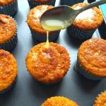 Coconut Flour Orange poppy seeds muffins (Gluten Free)
