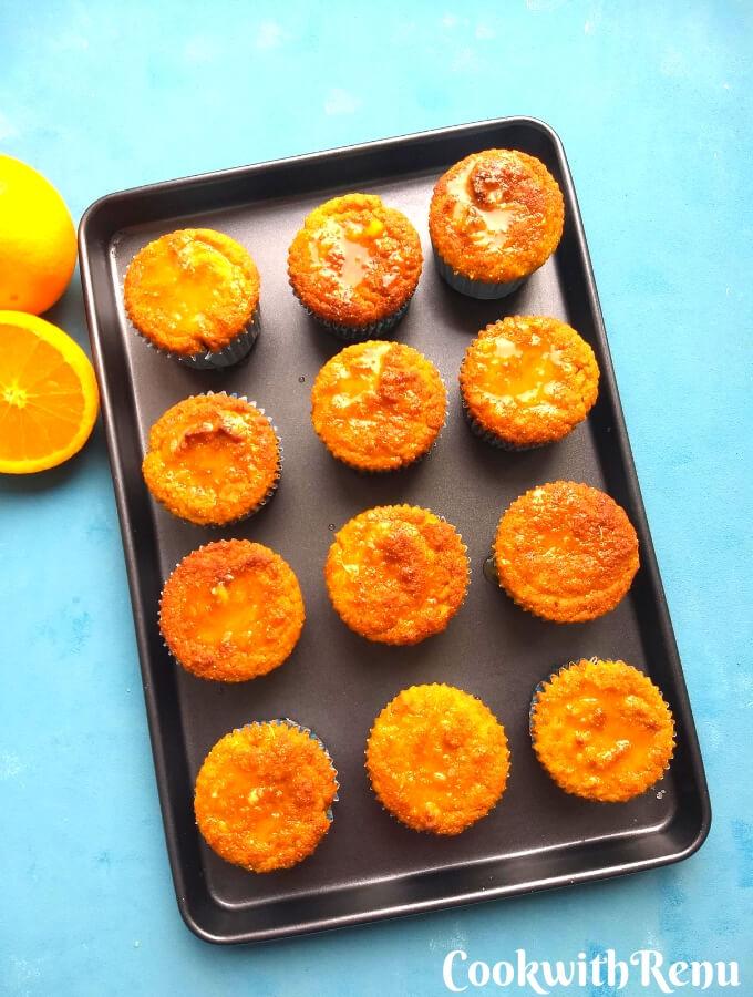 Coconut Flour Orange poppy seeds muffins (Gluten Free)