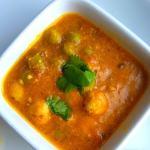Matar Makhana Sabji | Green Peas Fox nut Curry