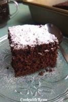 Low Carb Chocolate Coconut Flour cake