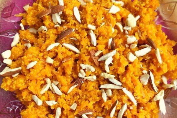 No Ghee No Mawa Gajar Halwa | Indian Carrot Pudding