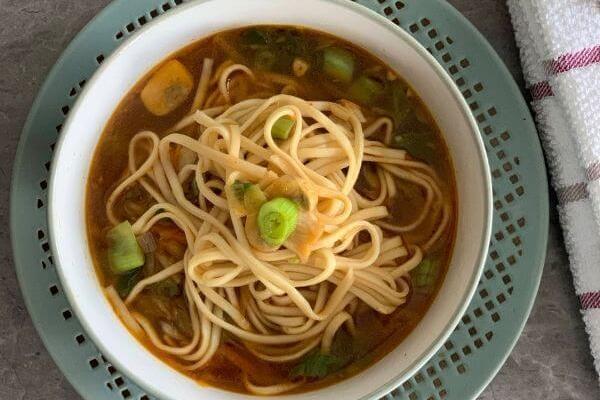 Thukpa | Vegetable Noodle Soup