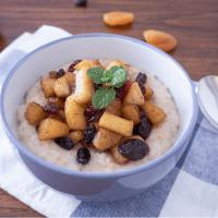 乾果蘋果燕麥粥-幸福溫暖的早餐食譜