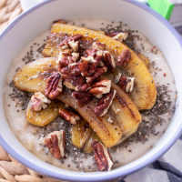 Banana Oatmeal Porridge : Healthy Vegan Breakfast Recipe