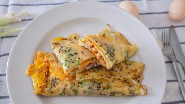 藜麥台式蛋餅早餐食譜