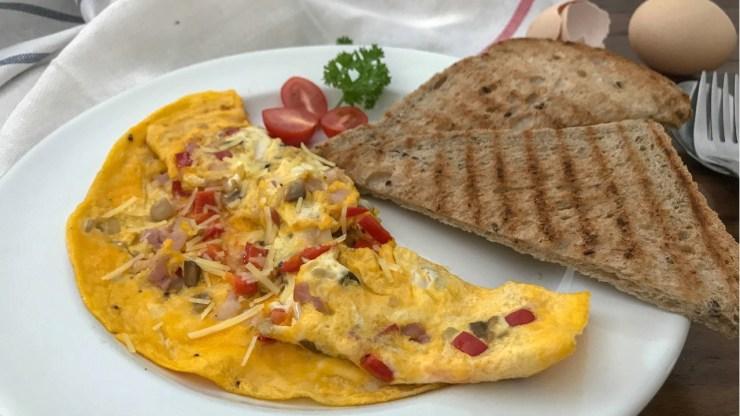歐姆蛋西式早餐食譜