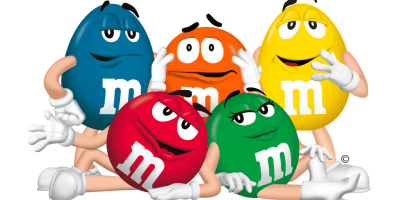 the M&M characters