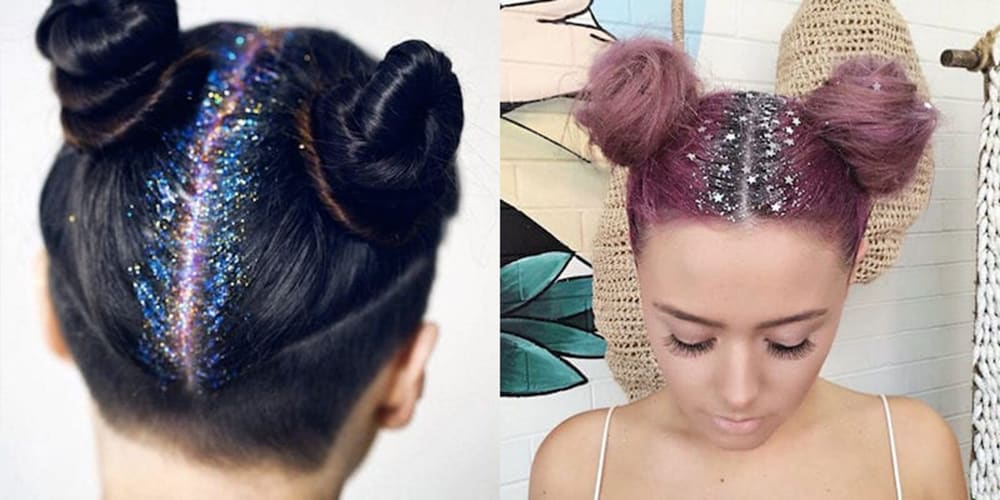 Womens Hairstyles 2017 Glitter Roots