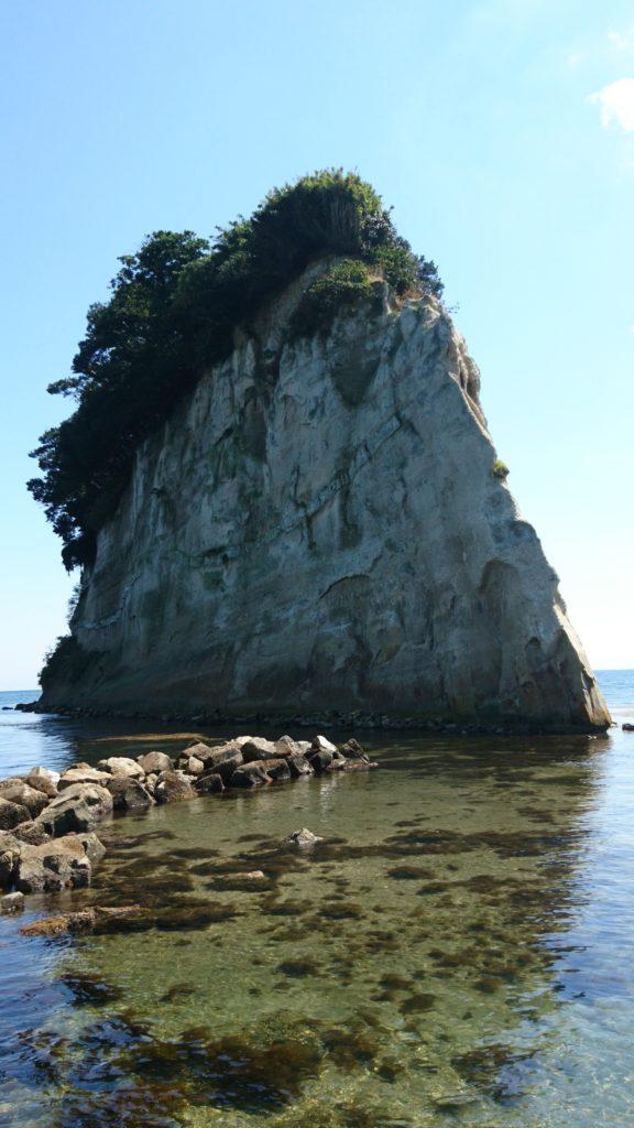 能登のシンボル 見附島