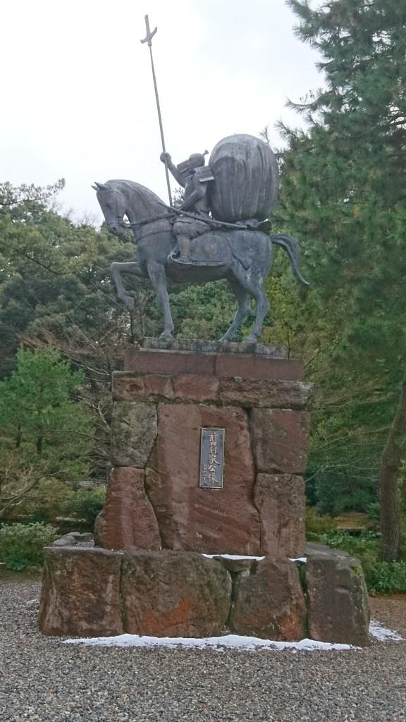 金沢,観光,おすすめ,尾山神社,前田利家,槍の又左