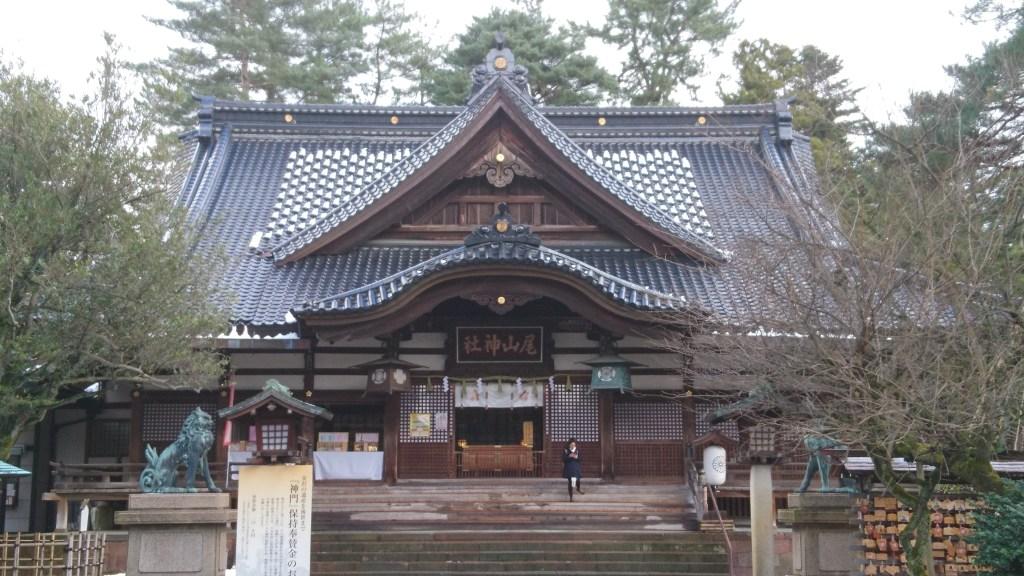金沢,観光,おすすめ,尾山神社,拝殿,前田利家,まつ