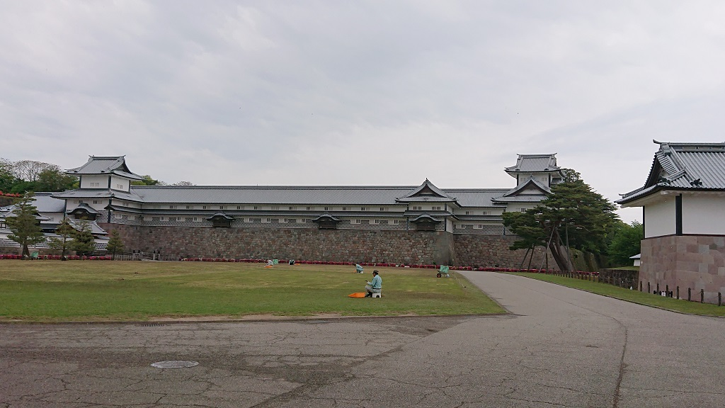 金沢城五十間長屋