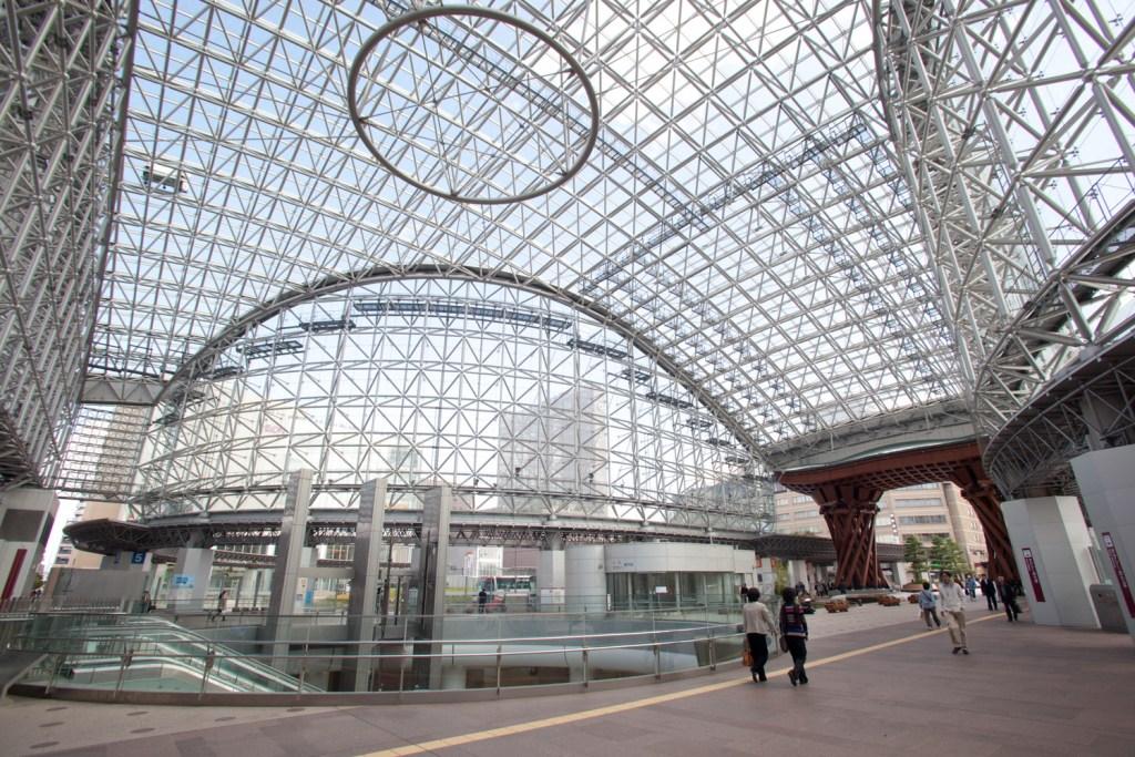 金沢駅,もてなしドーム,兼六園口,東口