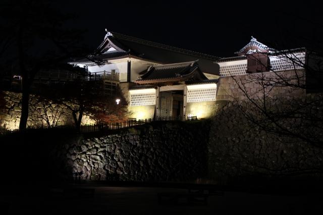 河北門,金沢城,三御門