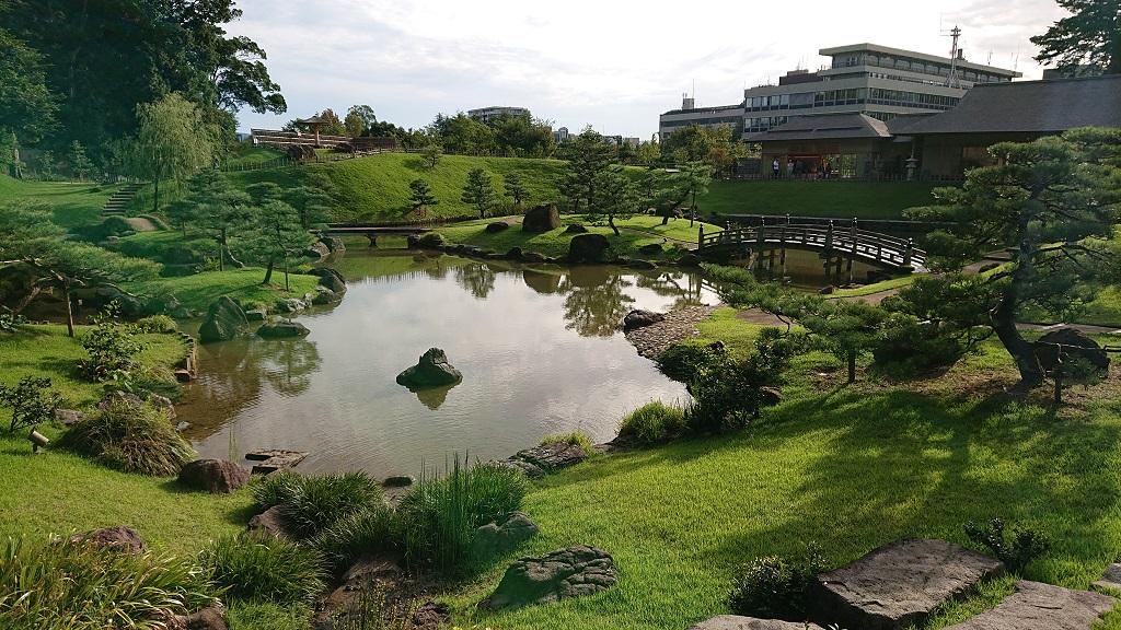 金沢城公園の玉泉院丸庭園
