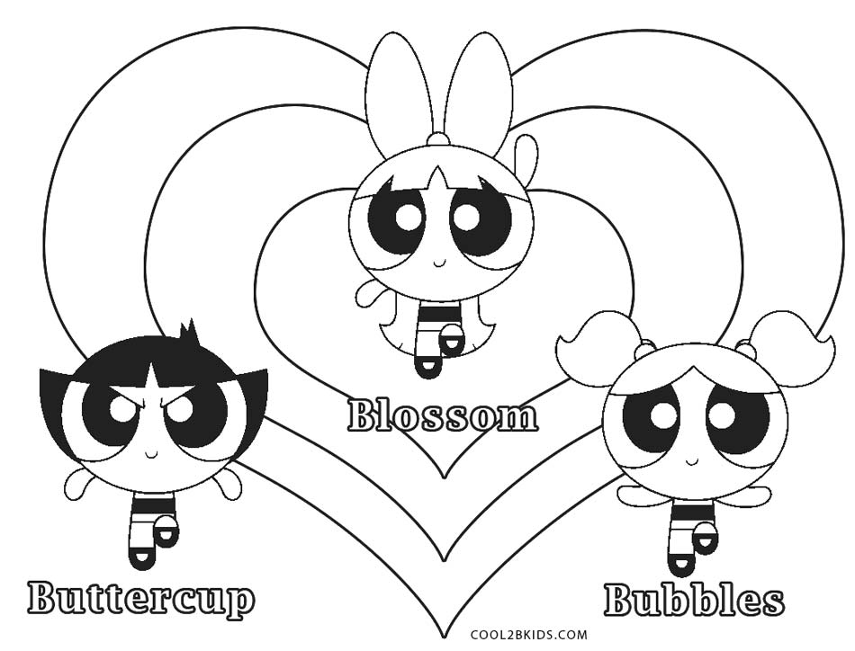 Free Printable Powerpuff Girls Coloring Pages Cool2bKids