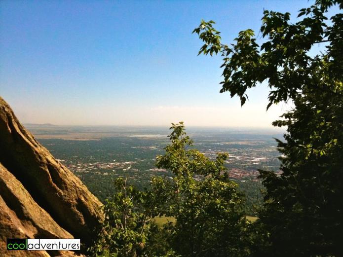 Climbing First Flatiron, Boulder, Colorado