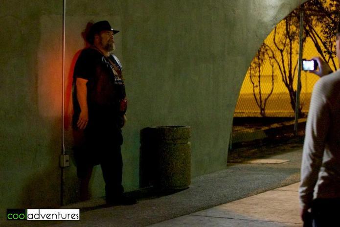 Blake, Albucreepy Downtown Ghost Walk, Albuquerque, New Mexico
