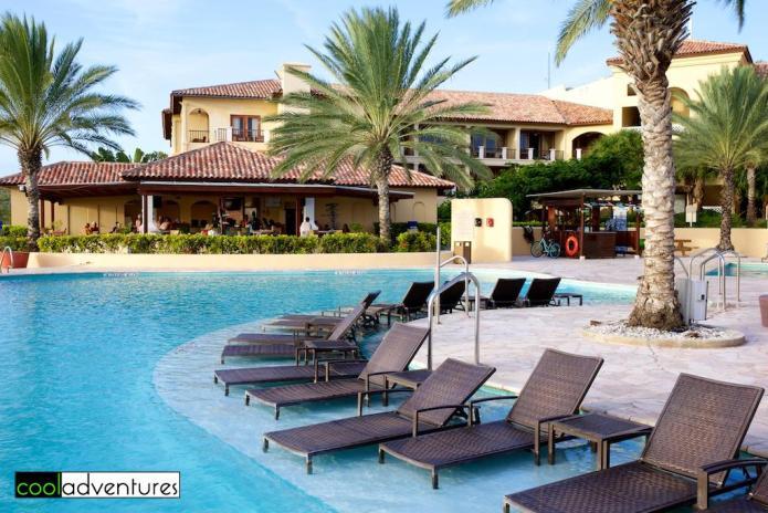 Santa Barbara Beach Resort pools, Curacao
