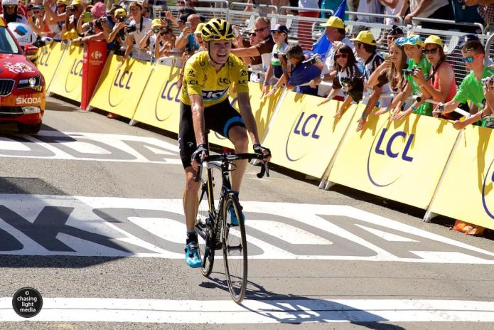 Chris Froome, Team Sky, Tour de France 2015 Stage 10