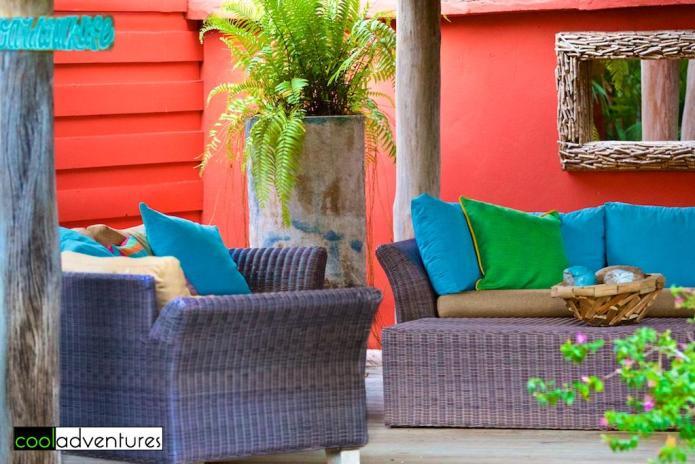 Common area seating, Boardwalk Hotel Aruba