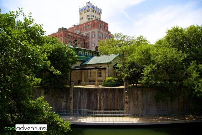 Guenther House and Pioneer Flour Mills, San Antonio, Texas