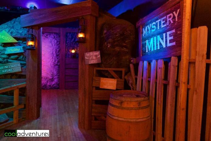 Mystery Mine, Buckhorn Saloon and Texas Ranger Museum, San Antonio, Texas