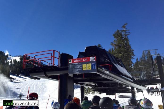Wizard Lift, Mt. Rose Ski Tahoe, Lake Tahoe, Nevada