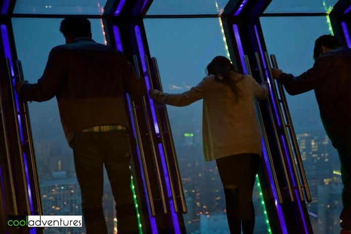 Tilt at 360 Chicago at John Hancock Center, Chicago, Illinois