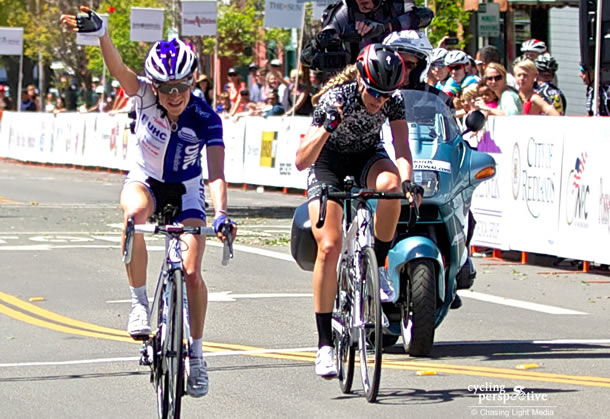 Tayler Wiles, Mara Abbott, Redlands Bicycle Classic 2014 Stage 5