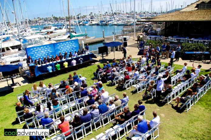 Amgen Tour of California 2016 press conference at San Diego Yacht Club