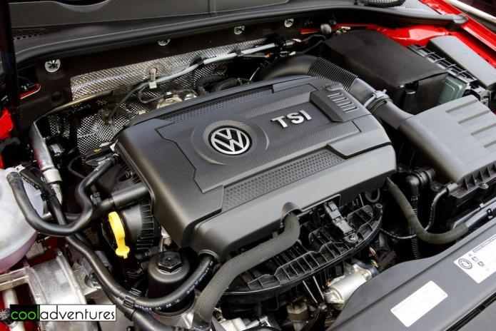 2017 Golf Volkswagen Alltrack engine