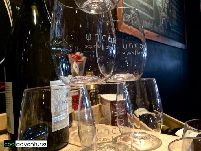 Uncorked wine bar, Truckee, California