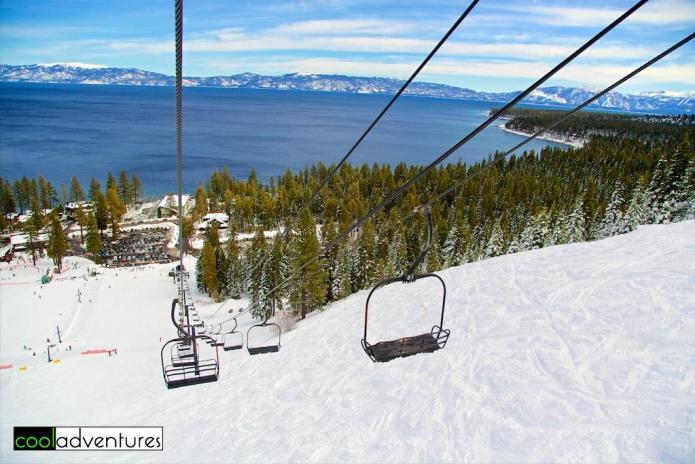 Homewood Ski Resort, Lake Tahoe, California