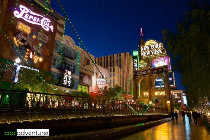 Brooklyn Bridge, New York - New York Hotel and Casino, Las Vegas, Nevada