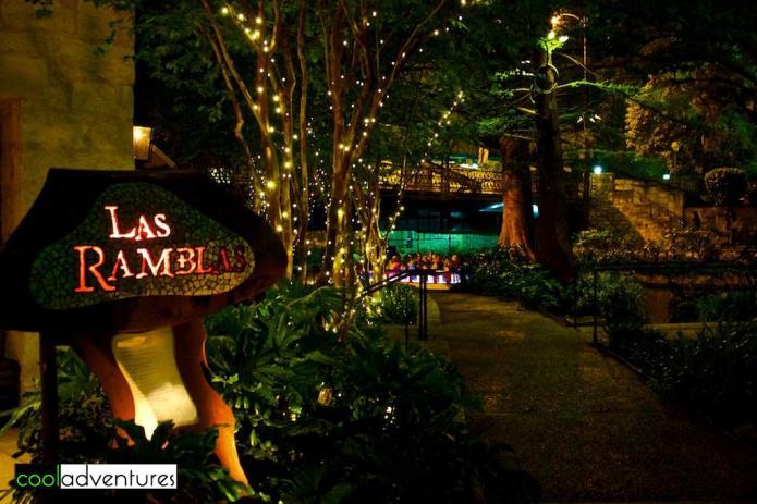 Hotel Contessa restaurant, Las Ramblas, San Antonio, Texas