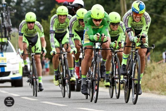 Tinkoff-Saxo, Tour de France 2015 Stage 9 TTT