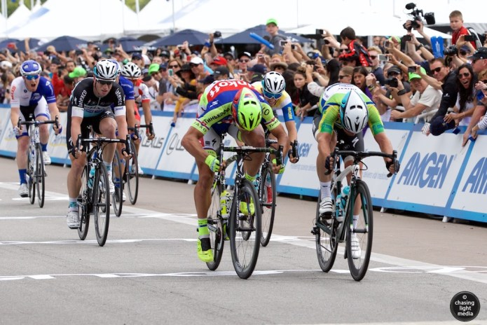 Mark Cavendish, Peter Sagan, Amgen Tour of California 2015 Stage 8 intermediate sprint
