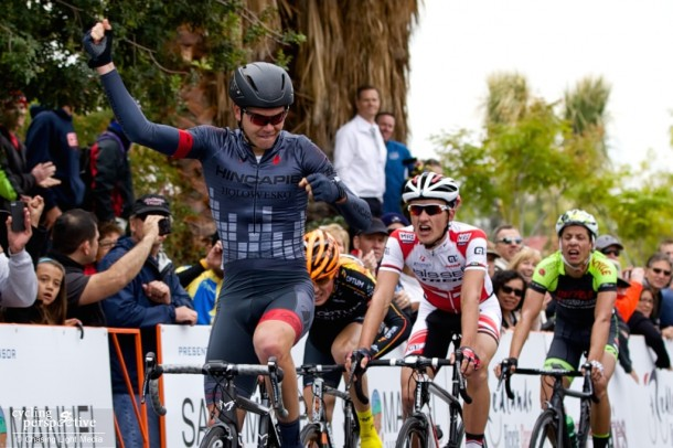 Dion Smith, Hincapie Sportswear Development, Redlands Bicycle Classic 2014 Stage 1