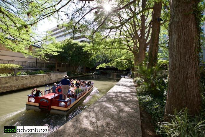 River cruise, River Walk, San Antonio, Texas