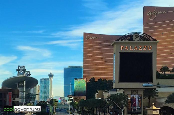 Fashion Show Mall, Stratosphere, Encore, Wynn, Las Vegas, Nevada