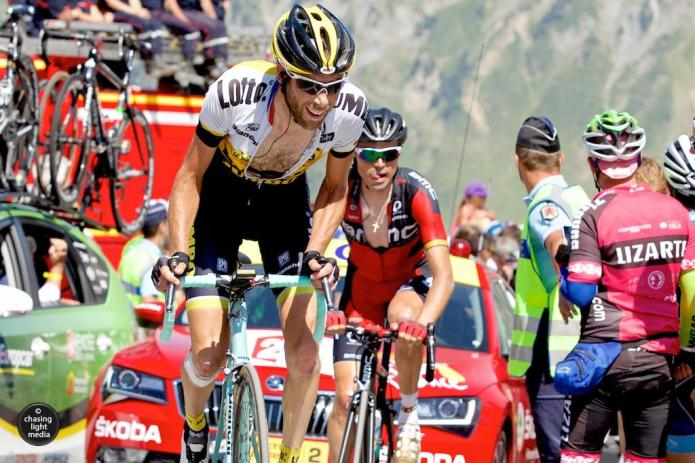 Laurens Ten Dam, Lotto NL-Jumbo, Tour de France 2015 Stage 11 Col du Tourmalet