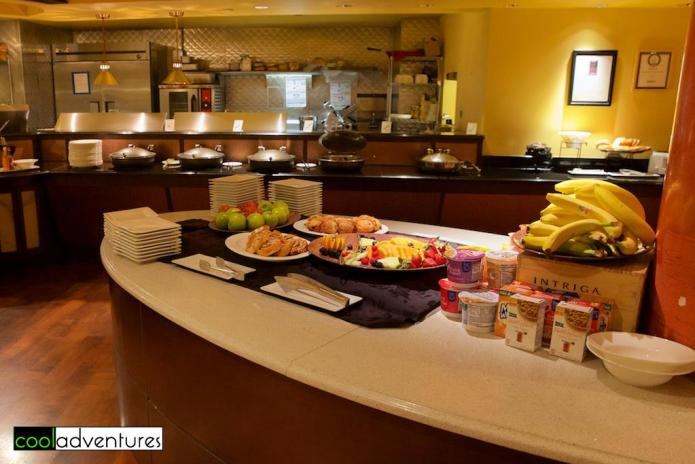 Breakfast buffet at Las Ramblas, Hotel Contessa, San Antonio, Texas