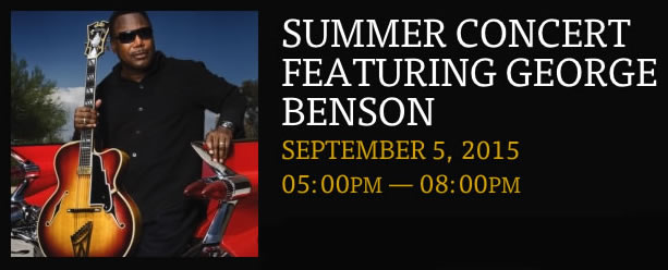 George Benson at Rodney Strong Vineyards