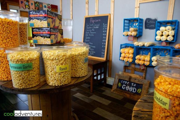 Molly Poppin's Gourmet Snacks, Park Rapids, Minnesota