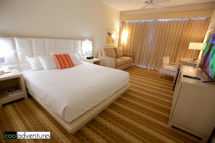 Ocean view room in the Las Vistas wing, El Conquistador Resort, Puerto Rico